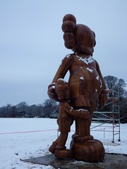 KAWS, Yorkshire Sculpture Park (puffin11uk) Tags: snow ysp 50club puffin11uk 50club2