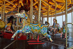 Brighton carousel (Quietime photography) Tags: food beach architecture see brighton sailing victorian carousel