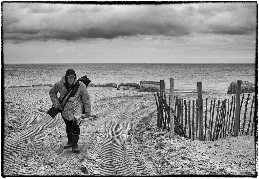 Fisherman at Hemsby.