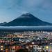 Dusk over Kamchatka