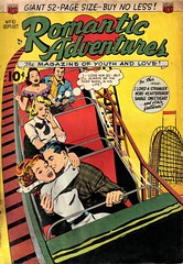 Romantic Adventures 10 (Michael Vance1) Tags: woman man art love comics artist marriage romance lovers dating comicbooks relationships cartoonist anthology silverage