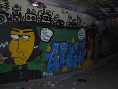 CIMG4746 (Colourfulfills) Tags: street uk david london alan wall graffiti bowie paint spray glen homer graff simpson legal leake rickman