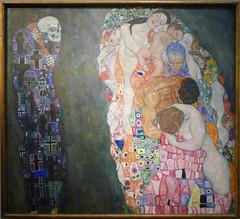 Klimt, Death and Life (profzucker) Tags: vienna life painting death klimt secession symbolism leopold klimtdeath