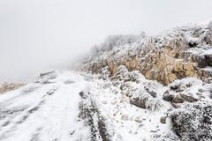 """La Pandera"" Icy (Francisco Lorenzo ) Tags: road espaa mountain snow ice spain carretera nieve andalucia sierra montaa pandera frio hielo helada lapandera franciscolorenzo flmfoto"