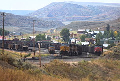Phippsburg, CO on September 16, 2009 (railfan 44) Tags: pacific union