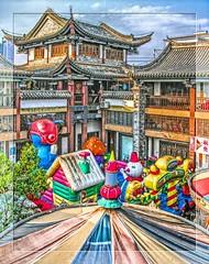 Jianshui, Yunnan (China) / Lunapark (Bruno Zaffoni) Tags: china  yunnan cina  jianshui