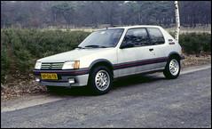 Peugeot 205 1.6 GTI (01) (Hans Kerensky) Tags: 120 scanner 16 gti agfa 1986 peugeot 205 200s plustek opticfilm