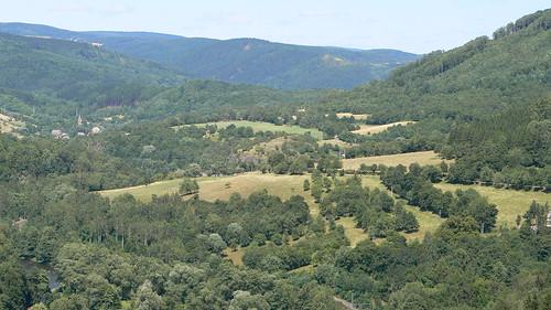 Zwischen dem Duppauer Gebirge und dem Erzgebirge