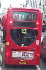 Tower Transit  DN33777  on route 23 Strand 03/02/16. (Ledlon89) Tags: bus london buses transport londonbus tfl londonbuses centrallondon