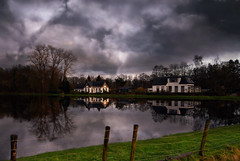 White houses (frata60) Tags: sky house netherlands landscape nikon nederland tokina d200 1224mm drenthe landschap luchten frata60