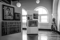 Duluth Art Institute (Sharon Mollerus) Tags: bw minnesota museum unitedstates depot fc duluth