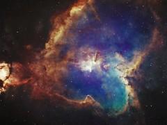 Heart Nebula (manuel.huss) Tags: love stars heart infinity space nebula universe deepsky