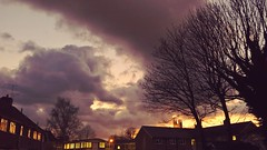 Clouds (gemmasmith665) Tags: city trees sunset sky nature skyline clouds buildings skyscape cityscape cathedral natural dusk