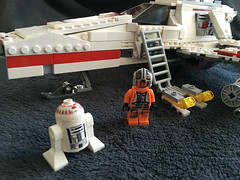 IMG_1262 (lee_a_t) Tags: starwars fighter lego xwing spaceship ewing rebels starfighter darkempire legoxwing legostarfighter legoewing