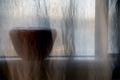 still (me*voil) Tags: home glass still curtain bowl 25 translucent artlibres artlibrecthedarkside