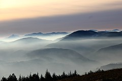 (claudiophoto) Tags: italy mountains misty fog landscapes landscapephoto paesaggiitaliani paesaggidellemarche