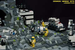 08_OSWION_Mining_Site (LegoMathijs) Tags: expedition layout wire mod energy power lego crystal space el vehicles astronauts modular planet scifi 20 functions mindstorms drill containers grapple spaceships miners moc nxt ores legomathijs oswion