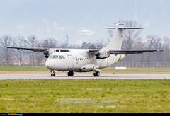 Turin Airport: ATR 42-500MP Surveyor (Simone Ciaralli - AirTeamImages) Tags: simone aviation olympus turin zuiko atr guardiadifinanza saimon caselle avgeek turinairport limf saimonvolo ciaralli