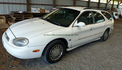 1998 Mercury Sable LS Station Wagon - $2090.00 (Sold August 14, 2015)