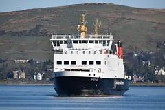 MV Argyle arriving at Gourock (Russardo) Tags: ferry scotland clyde mac cal argyle calmac gourock mv caledonian arriving macbrayne