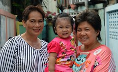 with grandmother and her friend (the foreign photographer - ) Tags: baby portraits thailand nikon women friend toddler grandmother bangkok bang bua khlong bangkhen d3200