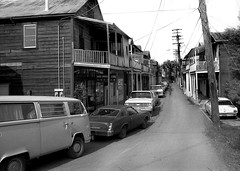 Locke, California 1983 (Dizzy Atmosphere) Tags: delta 1983 locke centralvalley sacramentocounty sacramentovalley californiadelta lockecalifornia lockeca walnutgroveca