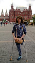 Liliya_Mbz1sy3xjSk (cb_777a) Tags: war ukraine disabled crutches handicapped amputee onelegged