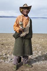 Namtso lake, Tibet (Matteo Melchior) Tags: china portrait man tibet uomo local guide namtso lhasa ritratto