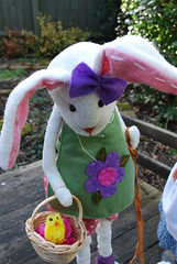 3. A Whimsical Easter Story (Little little mouse) Tags: bjd dollfie easterbunny tansy kayewiggs tanlaryssa