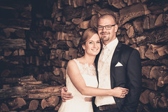 Perfectly happy together! (andi_59) Tags: wedding portrait people brown love canon happy couple natural availablelight marriage naturallight sensual 5d weddingday hochzeit 70200 liebe 2015 tunnellicht tunnellight