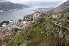 Kotor, Montenegro (Taylor Mc) Tags: old sea history nature landscape orthodox oldtown fortress gora adriatic montenegro adria bucht kotor crnagora crna bayofkotor mne