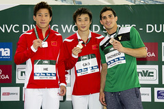 FINA/NVC Diving World Series 2016 - Dubai (fina1908) Tags: 2016 fina nvc diving worldseries tuffi dubai 3mmpodium unitedarabemirates uae dws dws16