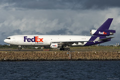 N631FE Federal Express (FedEx) McDonnell Douglas MD-11F SYD/YSSY 16/3/2016 (TonyJ86) Tags: travel clouds plane airplane fly airport nikon aircraft aviation flight jet sydney australia aeroplane cargo mascot landing international nsw d750 newsouthwales arrival syd fedex freight airliner freighter md11 sydneyairport widebody jetliner mcdonnelldouglas trijet planespotting federalexpress yssy md11f jetaircraft triholer n631fe sydneykingsfordsmith nikkor70200mmf28vrii nikond750