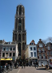 Dom Tower in all its glory. (TeenyWeenyDesign/Adrianne) Tags: utrecht domtoren cathedral oldbuildings domtower