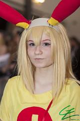 Pokemon: Plusle (gxle) Tags: portrait canon eos rebel helsinki kiss cosplay pokemon t3i x5 2016 minun plusle 600d rebelt3i kissx5 yukicon 2k16 yukicon2016