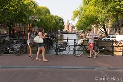 Nieuwmarkt (villeah) Tags: street bridge people netherlands amsterdam architecture canal thenetherlands nl nieuwmarkt northholland