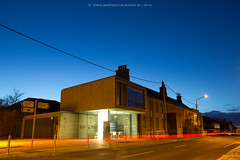 Blue Hour Baldoyle (Mick H 51) Tags: longexposure blue ireland dublin building art architecture canon march library hour civic 5d pivot architects mkii 1635 mkiii 2016 fkl baldoyle 3i2a0019