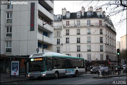 Man Lion's City Hybride - RATP (Régie Autonome des Transports Parisiens) / STIF (Syndicat des Transports d'Île-de-France) n°9980