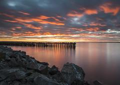 Colorful heaven (Madeleine Forsgren) Tags: longexposure clouds nikon vnern d800 pir vrmland moln skoghall leefilter boholmen madeleineforgren