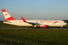 Austrian Airlines Boeing 767-3Z9(ER) - OE-LAY (Chris Jilli) Tags: vienna wien airport international boeing flughafen airlines vie austrian aua schwechat loww oelay wienschwechat 7673z9er viennaschwechat myaustrian