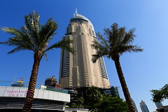 A30I0119 (vkhlizov) Tags: life street camera city travel sea sky people urban color reflection building tree tower love tourism window water lamp horizontal skyline architecture night skyscraper canon river square t outdoors photography lights hotel bay persian high downtown dubai cityscape exterior gulf place image outdoor no united famous capital uae cities tranquility landmark structure palm illuminated emirates countries story international khalifa arab tall address built burj destinations 1dx consumerproduct ef1635mm