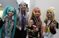 Anime Boston 2016 (pullip_junk) Tags: cosplay cosplayer rin luka miku animeboston vocaloid ab2016 animeboston2016