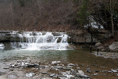 Fishing (juliafrenchfrey) Tags: statepark park ny newyork nature water waterfall woods parks waterfalls gorge ithaca 315 fingerlakes taughannock taughannockfalls ithacany tompkinscounty taughannockstatepark fingerlakesregion taughannockfallsstatepark newyorkstatepark
