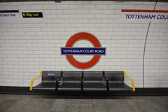 Tottenham Court Road Station (Monkey.d.tony) Tags: uk travel england london station train underground subway nikon europe metro tokina british tottenhamcourtroad  d7200