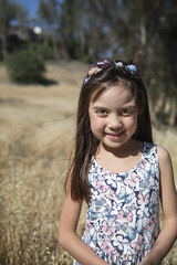 Summers doorstep (Tony Medina) Tags: summer cute girl yellow spring warm dry heat reese