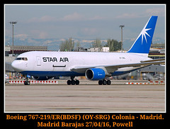 La Maerks del aire (Powell 333) Tags: madrid espaa canon eos star airport spain aircraft air 7d powell boeing airways airlines avin aeropuerto avion 767 aviones boeing767 aena maersk lemd maerskair starair oysrg eos7d canoneos7d 219er boeing767219 boeing767219er 767219erbdsf 767219er starairmaerskair boeing7672 boeing767219erbdsf