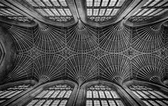 Bath Abbey fan vaulted ceiling (Daz Smith) Tags: city uk urban blackandwhite bw streets blancoynegro monochrome abbey canon fan blackwhite bath citylife thecity streetphotography ceiling vaulted canon6d dazsmith bathstreetphotography