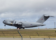 ZZ178 (NQY Pic's (600,000 Views. Thanks!!)) Tags: c17 newquayairport c17a aerohub zz178
