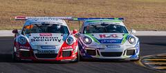 Close racing (dicktay2000) Tags: au sydney australia newsouthwales easterncreek richardtaylor rennsport2016