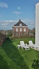 View of my backyard (iBSSR who loves comments on his images) Tags: green 30 backyard view villa kerk snowworld jaren heerlerbaan hedged